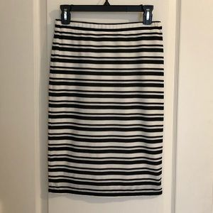 Max Studio Specialty Products stripe pencil skirt